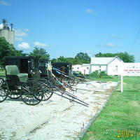 Used Amish Buggy Lot